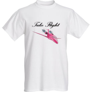 Womens Take Flight Custom T-Shirt