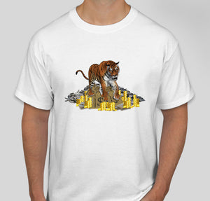 Money Tiger Custom T-Shirt