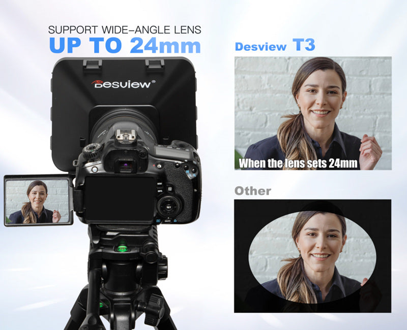 Desview T3 teleprompter application