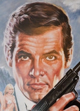 "Load image into Gallery viewer, ""For Your Eyes Only"", Japanese James Bond Movie Poster, Original Release 1981, B2 Size"