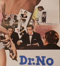 "Load image into Gallery viewer, ""Dr. No"", Japanese James Bond Movie Poster, Re-release 1972, Japanese STB (20"" X 58"")"
