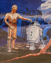 "Load image into Gallery viewer, ""Star Wars"", Original Release Japanese Movie Poster 1977, B2 Size"