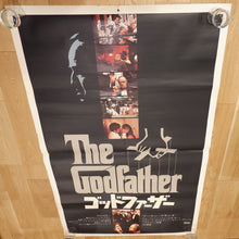 "Load image into Gallery viewer, ""The Godfather"" (Paramount, 1972) ULTRA RARE B0 Size Original-Release Japanese Movie Poster"