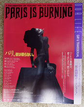 "Load image into Gallery viewer, ""Paris is Burning"" & ""Man into Woman"", B5 Size Chirashi"