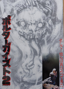 """Poltergeist II: The Other Side"", Original Release Japanese Movie Poster 1986, B2 Size"