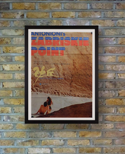 "Load image into Gallery viewer, ""Zabriskie Point"", Original Release Japanese Movie Poster 1970, B2 Size"