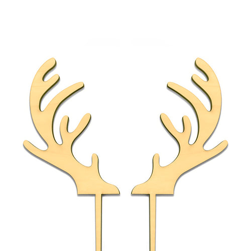 Reindeer Antlers - Cake Topper - Zoi&Co