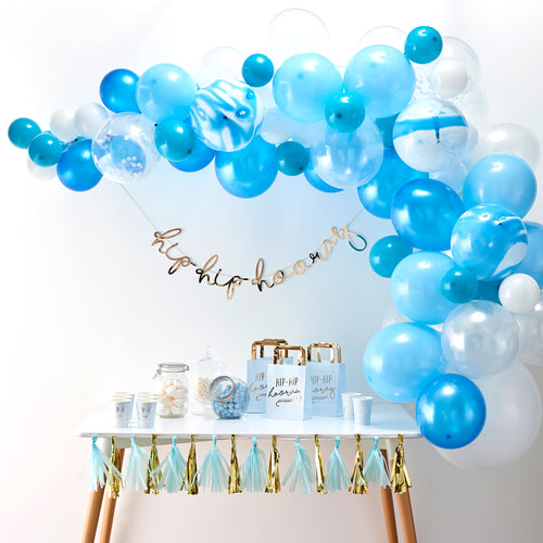 Blue - Balloon Arch Kit - Zoi&Co