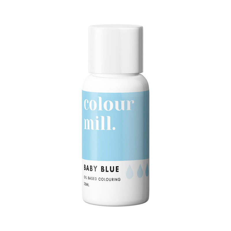 Baby Blue 20ml - Oil Based Colouring - Zoi&Co