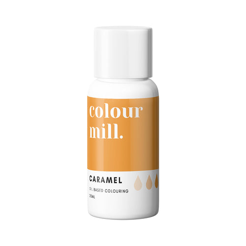 Caramel 20ml - Oil Based Colouring - Zoi&Co