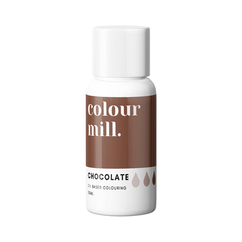 Chocolate 20ml - Oil Based Colouring - Zoi&Co