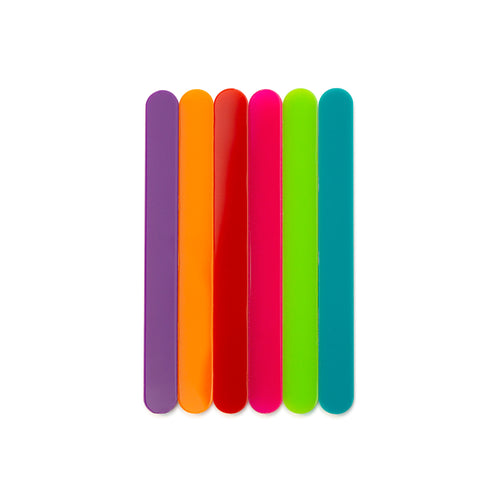 Color Cakesicle Sticks Front View Zoi&Co