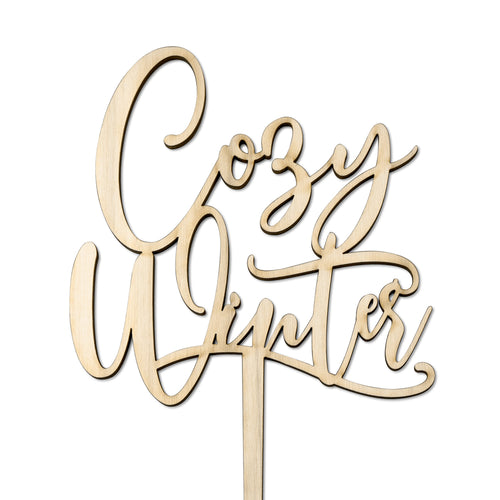Cozy Winter - Cake Topper - Zoi&Co