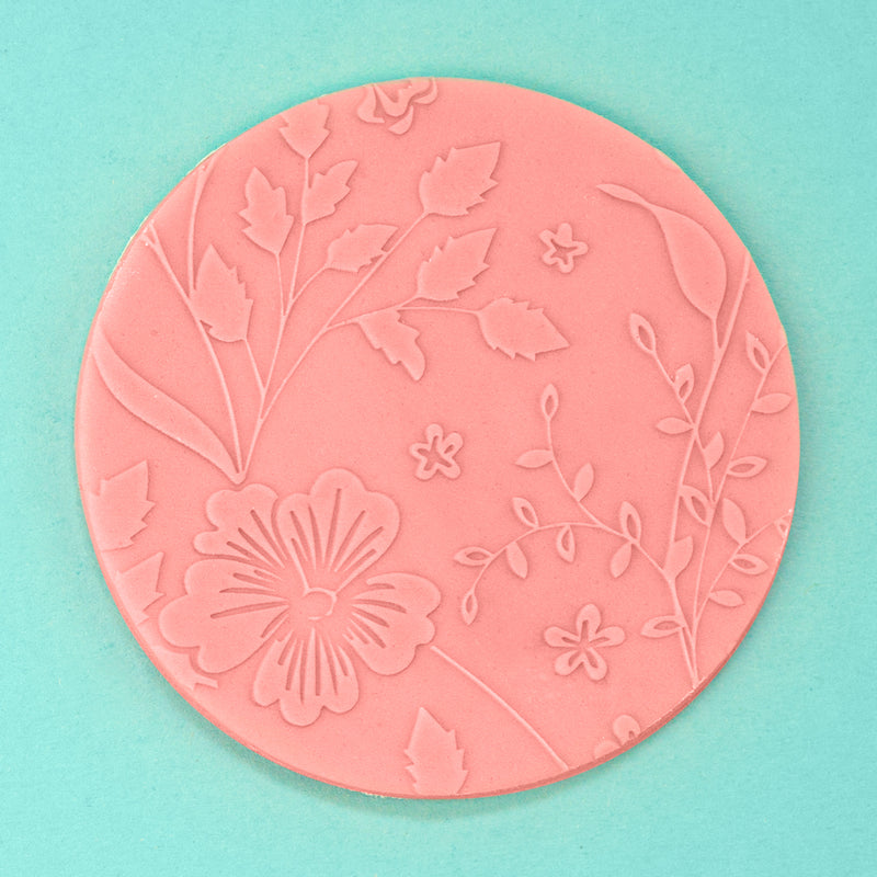 Blooming Ways - Tile Embosser example - front view - Zoi&Co