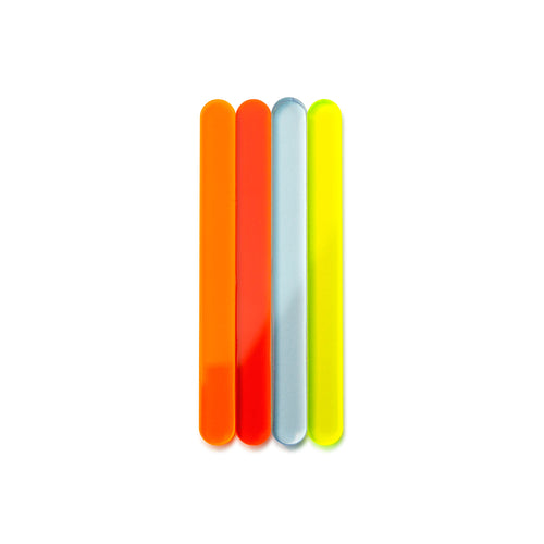 Flourescent Cakesicle Sticks Front View Zoi&Co