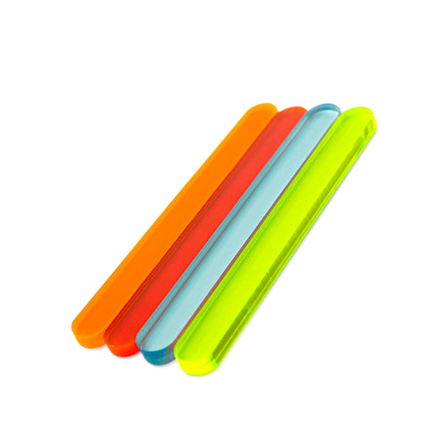 Flourescent Cakesicle Sticks Side View Zoi&Co