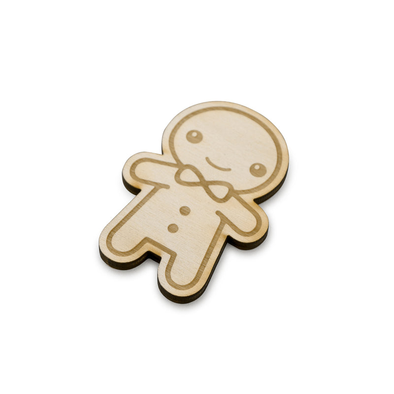 Gingerbread man - Cake Charms -6pcs- - Zoi&Co