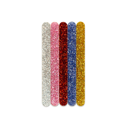 Glitter cakesicle sticks front view Zoi&Co
