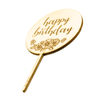 Happy Birthday Paddle - Cake Topper - Zoi&Co