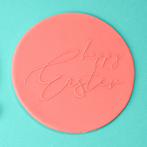 Happy Easter - Easter Embosser example - front view - Zoi&Co