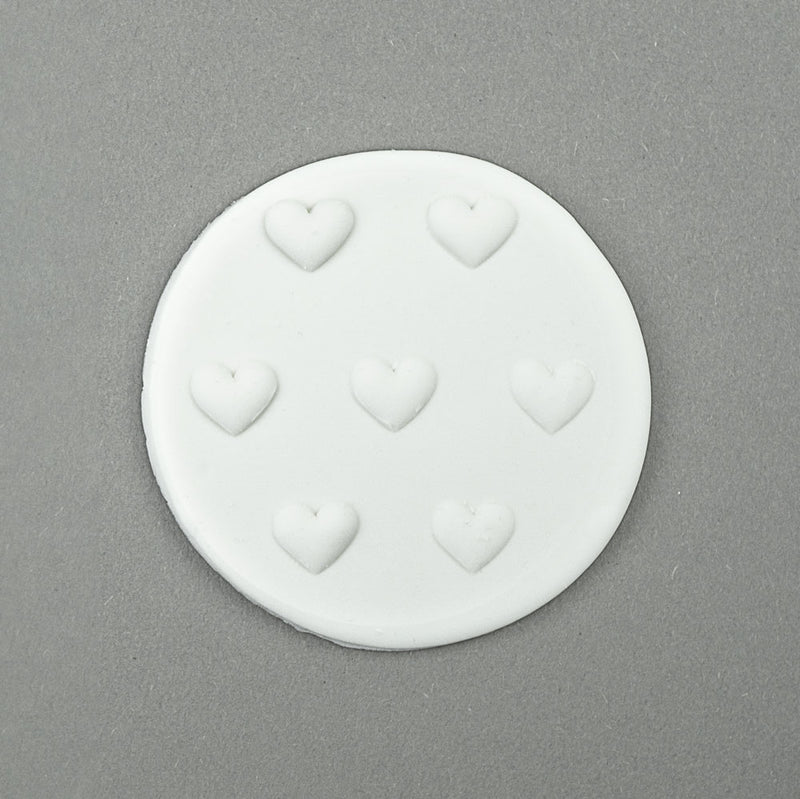 large hearts - tile cookie and fondant embosser . zoiandco