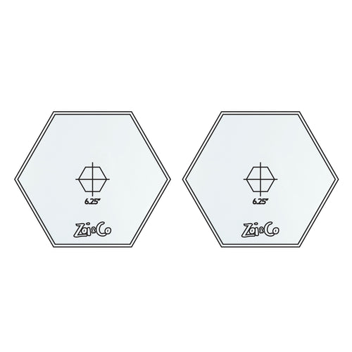 Hexagon - Frosting Disc Set - Zoi&Co
