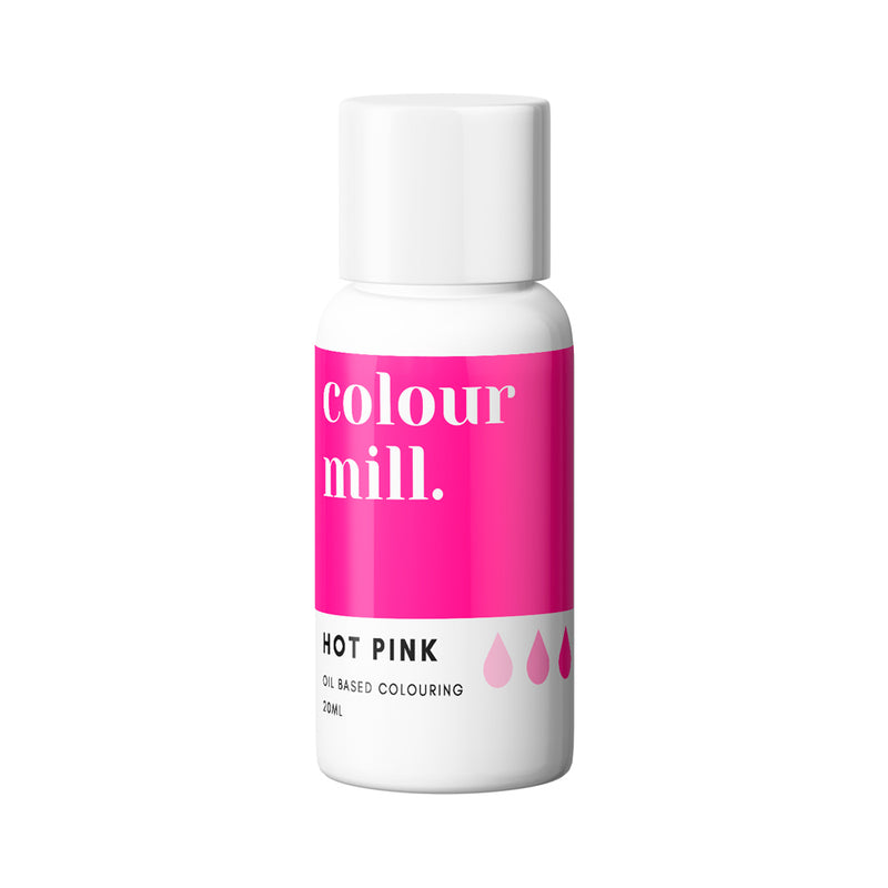 Hot Pink 20ml - Oil Based Colouring - Zoi&Co
