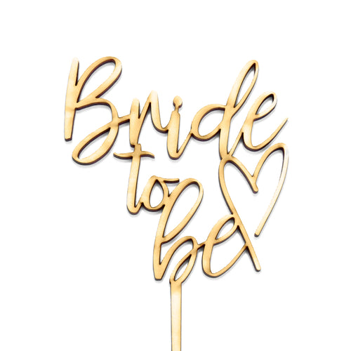 Bride to Be - Cake Topper - Zoi&Co