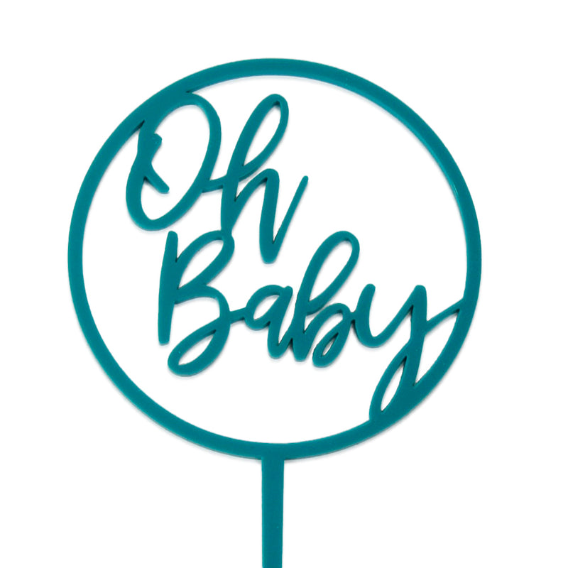 Oh Baby Loop - Cake Topper - Zoi&Co