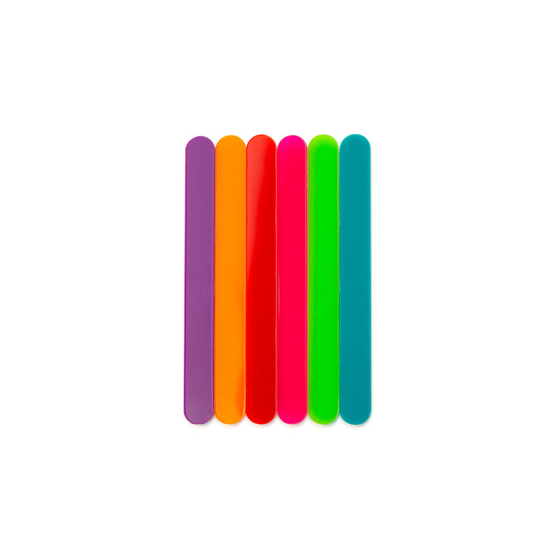 Color mini cakesicle sticks front view Zoi&Co