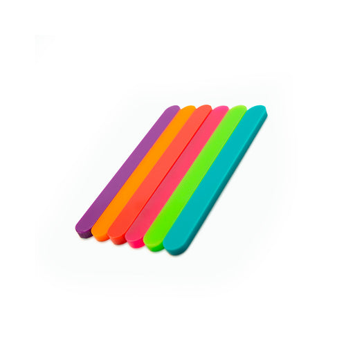 Color mini cakesicle sticks side view Zoi&Co