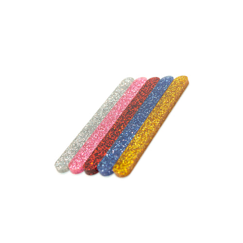 Glitter Mini cakesicle sticks side view Zoi&Co