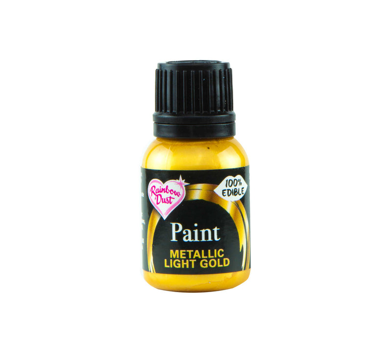 Metallic Food Paint -Light Gold- 25ml
