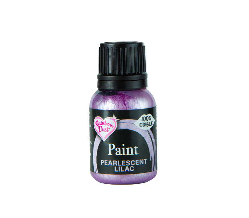 Metallic Food Paint -Pearlescent Lilac- 25ml