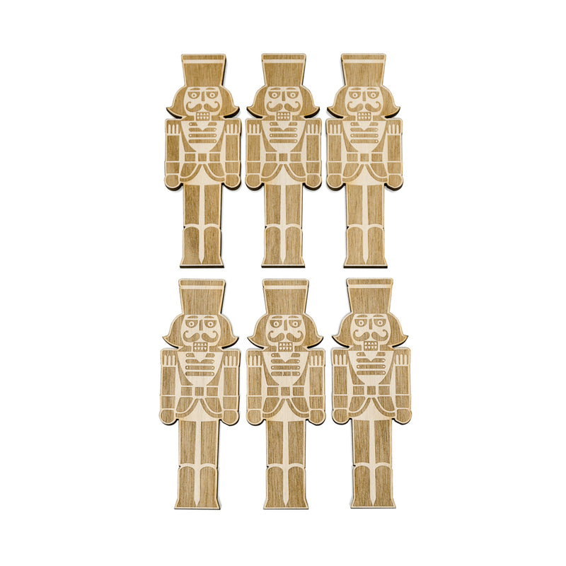 Nutcracker - Cake Charms -6pcs- - Zoi&Co