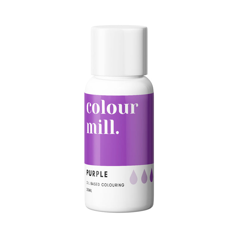 Purple 20ml - Oil Based Colouring - Zoi&Co