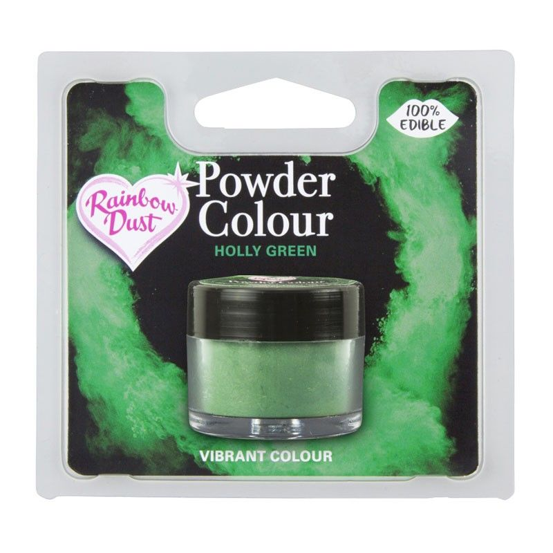 Powder Colour -Holly Green-