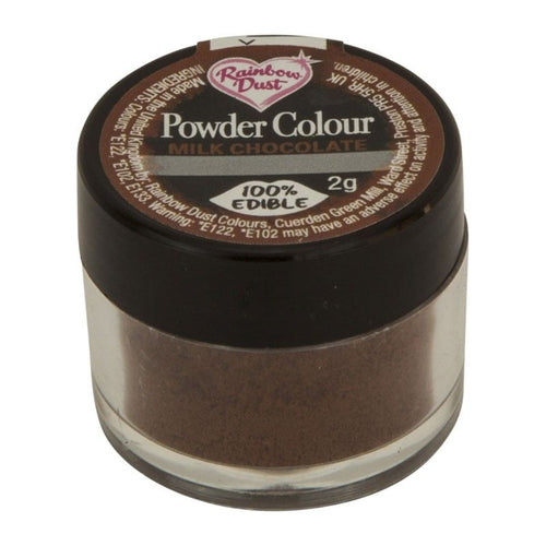 Powder Colour -Milk Chocolate Brown-