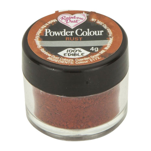 Powder Colour -Rust Brown-