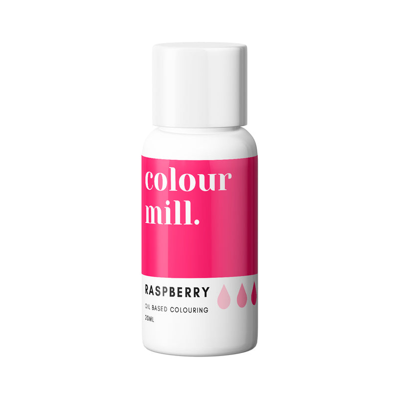 Raspberry 20ml - Oil Based Colouring - Zoi&Co