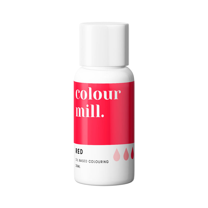 Red 20ml - Oil Based Colouring - Zoi&Co