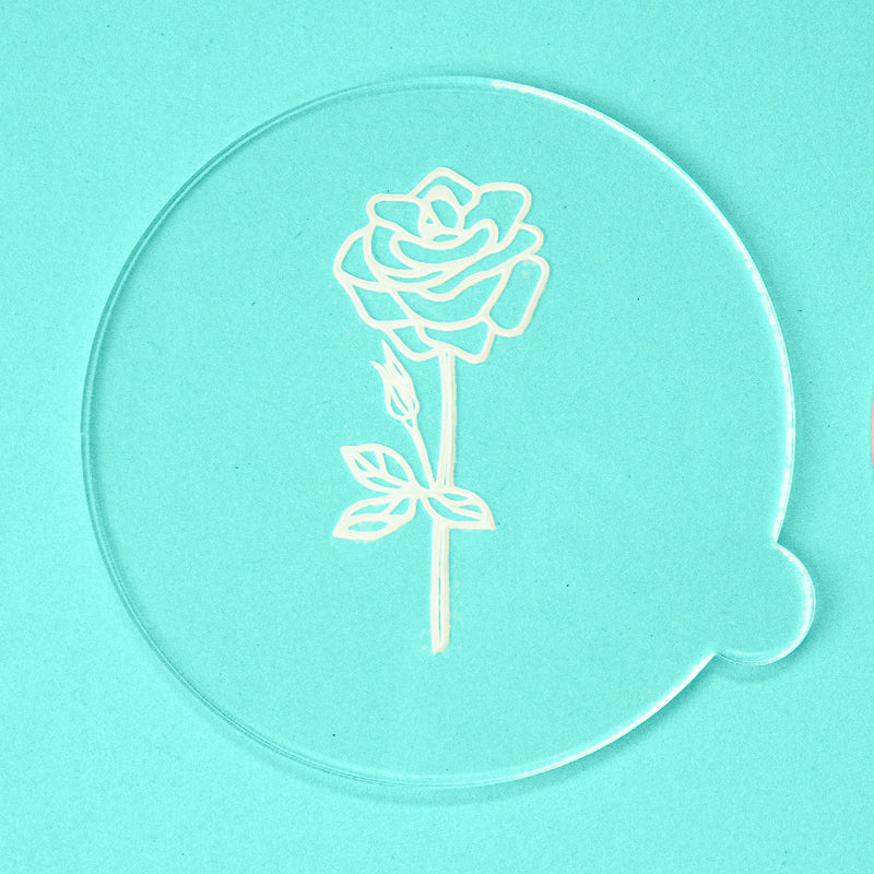 Blooming Rose - Easter Embosser - front view - Zoi&Co
