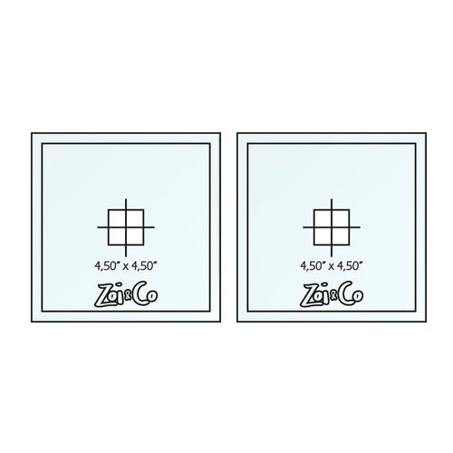 Square - Frosting Disc Set - Zoi&Co