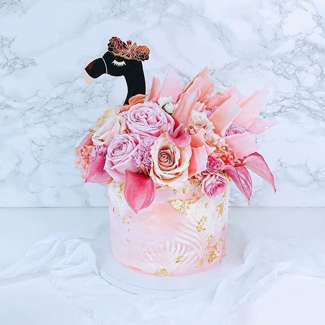 Flamingo - Cake Topper