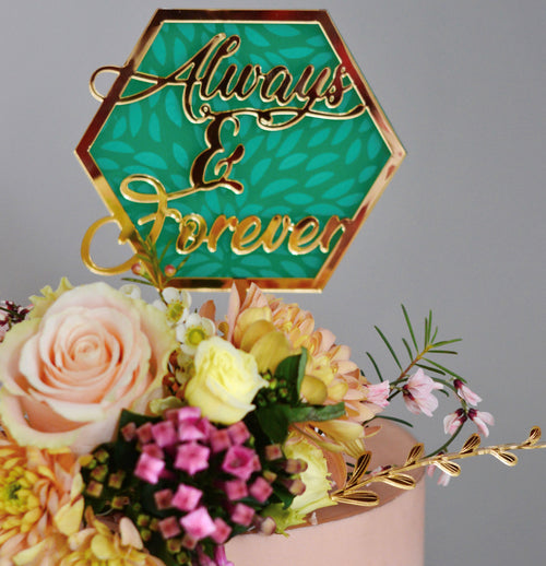 Always & Forever - Cake Topper - Zoi&Co