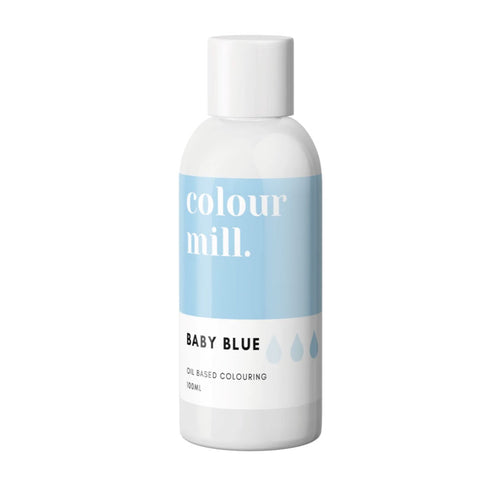 Baby Blue 100ml - Oil Based Colouring - Zoi&Co
