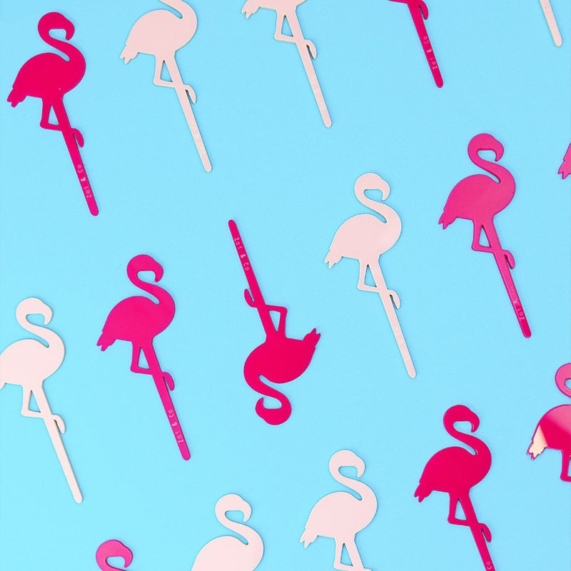 Flamingo - Cupcake Set -6pcs- - Zoi&Co