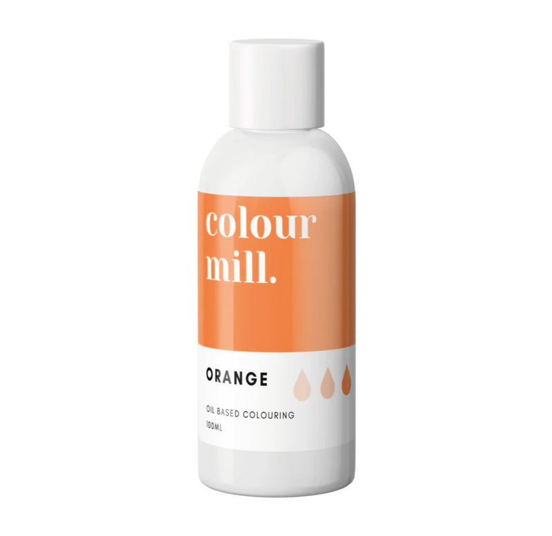 Orange 100ml - Oil Based Colouring - Zoi&Co