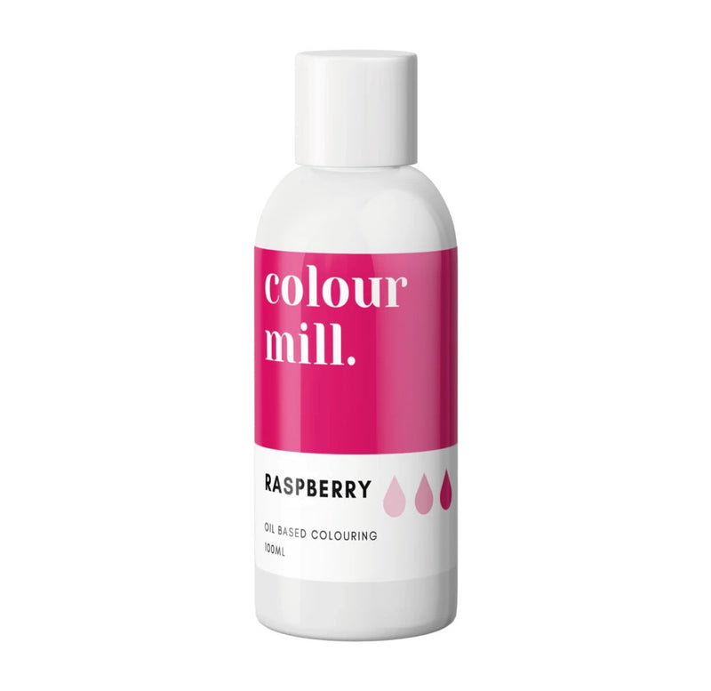 Raspberry 100ml - Oil Based Colouring