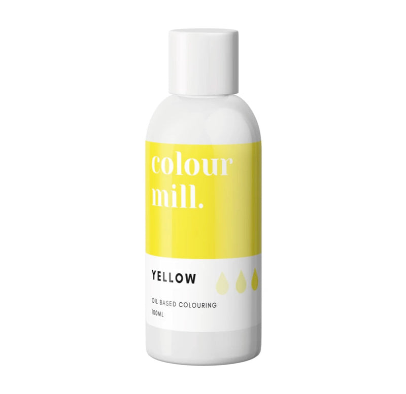 Yellow 100ml - Oil Based Colouring - Zoi&Co